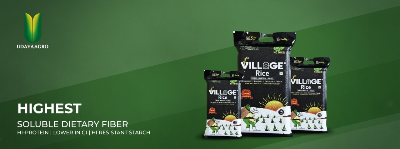 village rice high dietary fibre rice